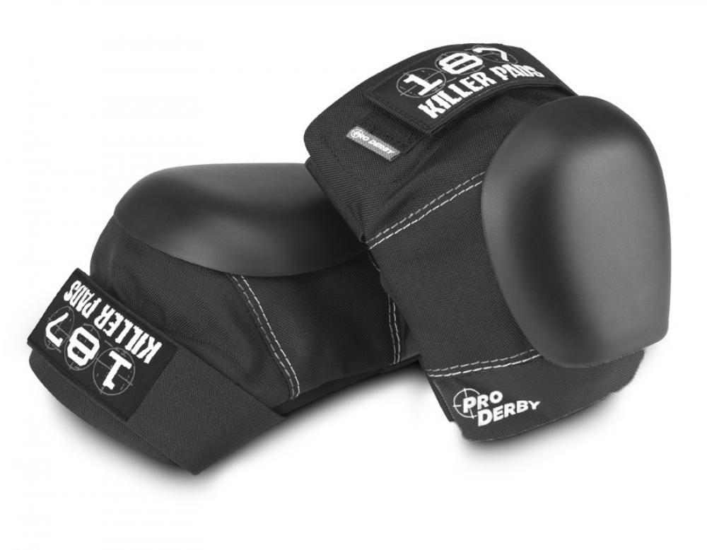 Image of 187 Pro Derby Knee Pads - Black